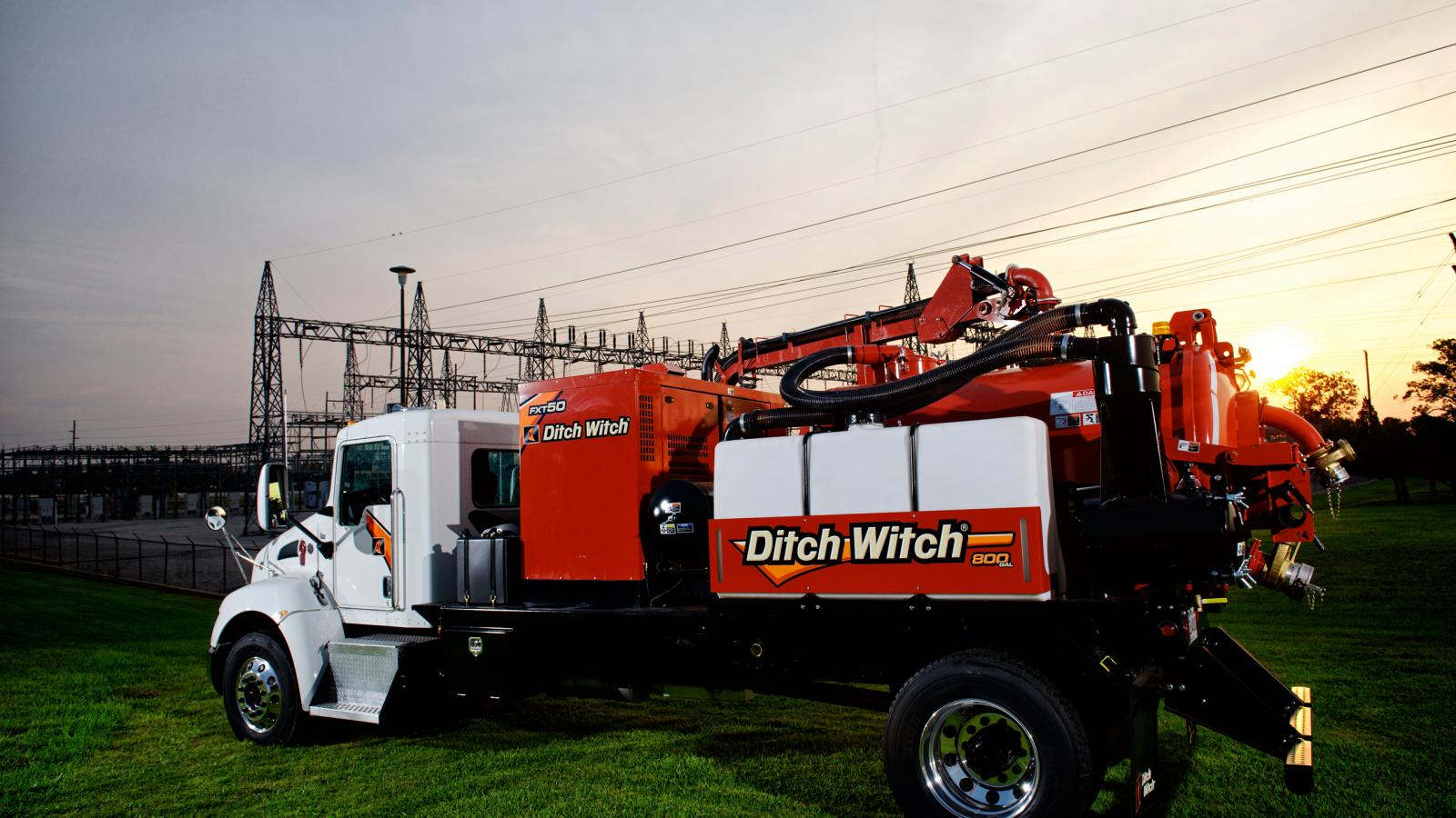 Ditch Witch FXT50 Truck Vacuum Excavator