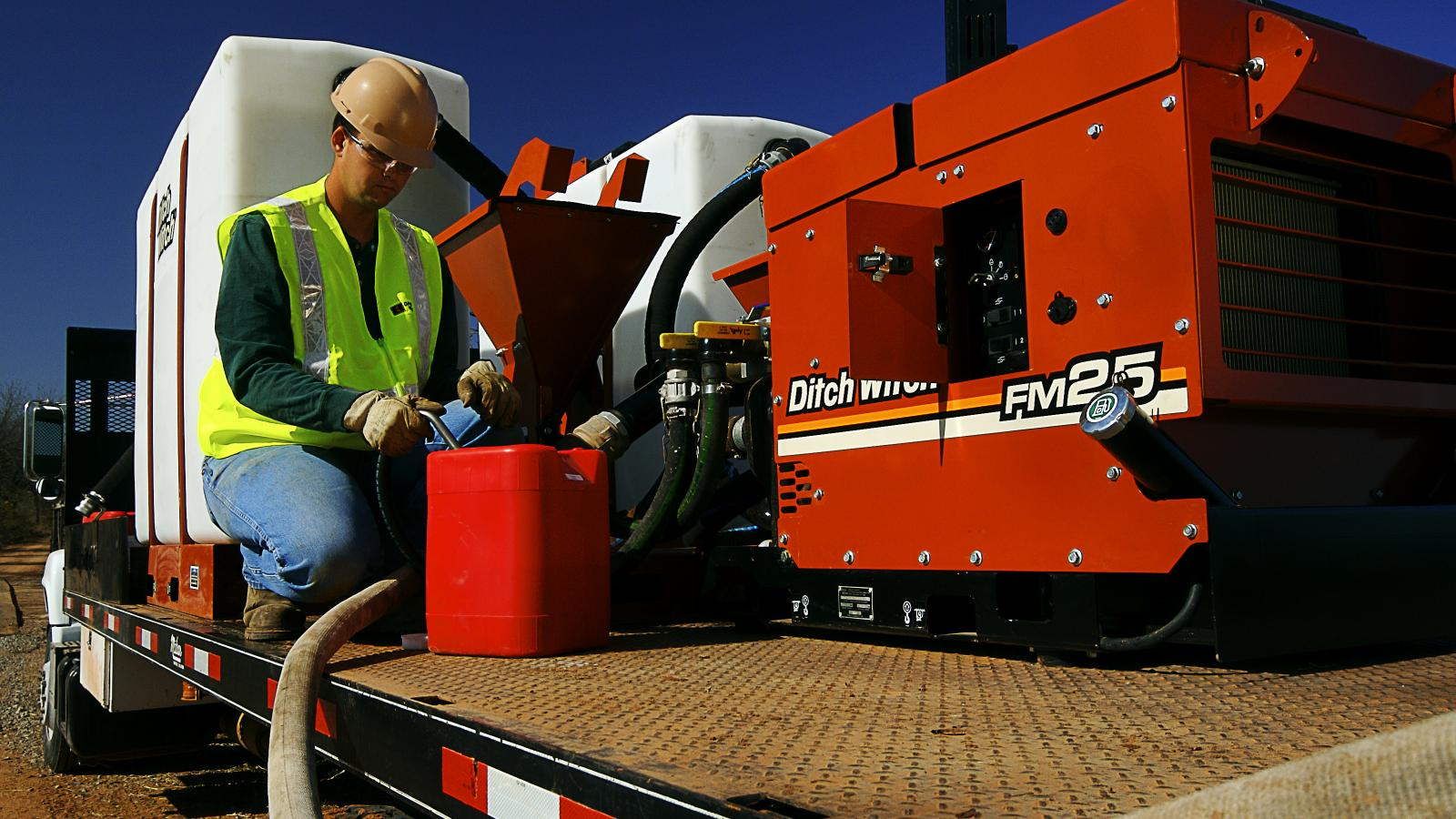 Ditch Witch FM25 Fluid Management