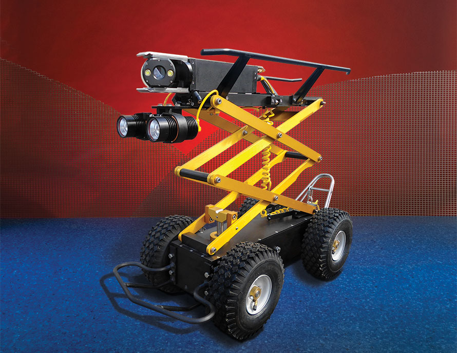 Subsite Electronics Steerable Storm Drain Tractor