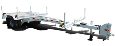 American Eagle IPT Telescoping Utility Pole Trailer