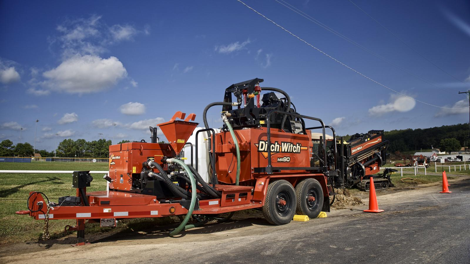 Ditch Witch MR90 Mud Recycler