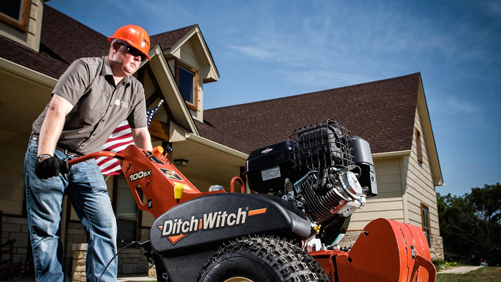 Ditch Witch 100SX Vibratory Plow