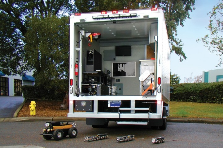 Subsite Electronics High Cube Pipeline Inspection Truck