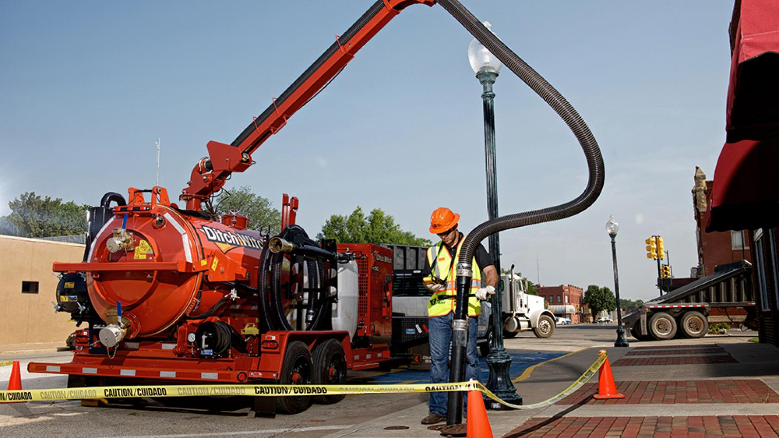 Ditch Witch FX50 Vacuum Excavator
