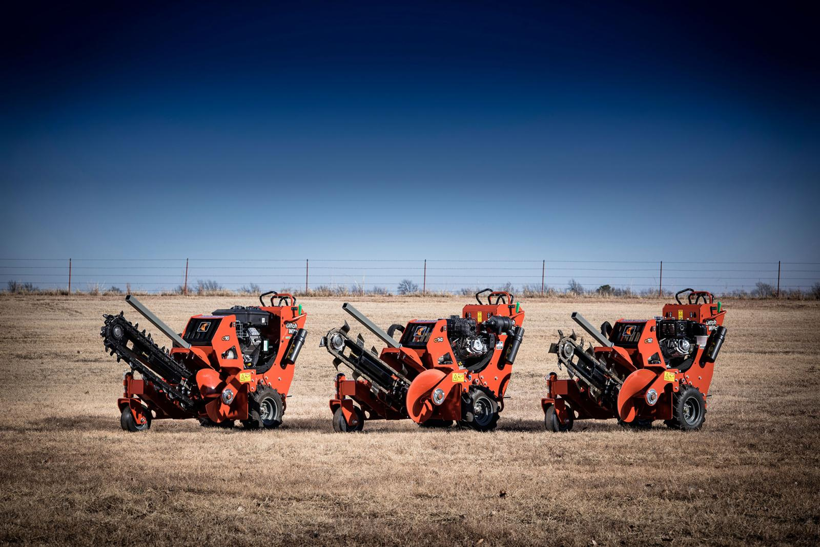 Ditch Witch C14 Walk-Behind Trencher