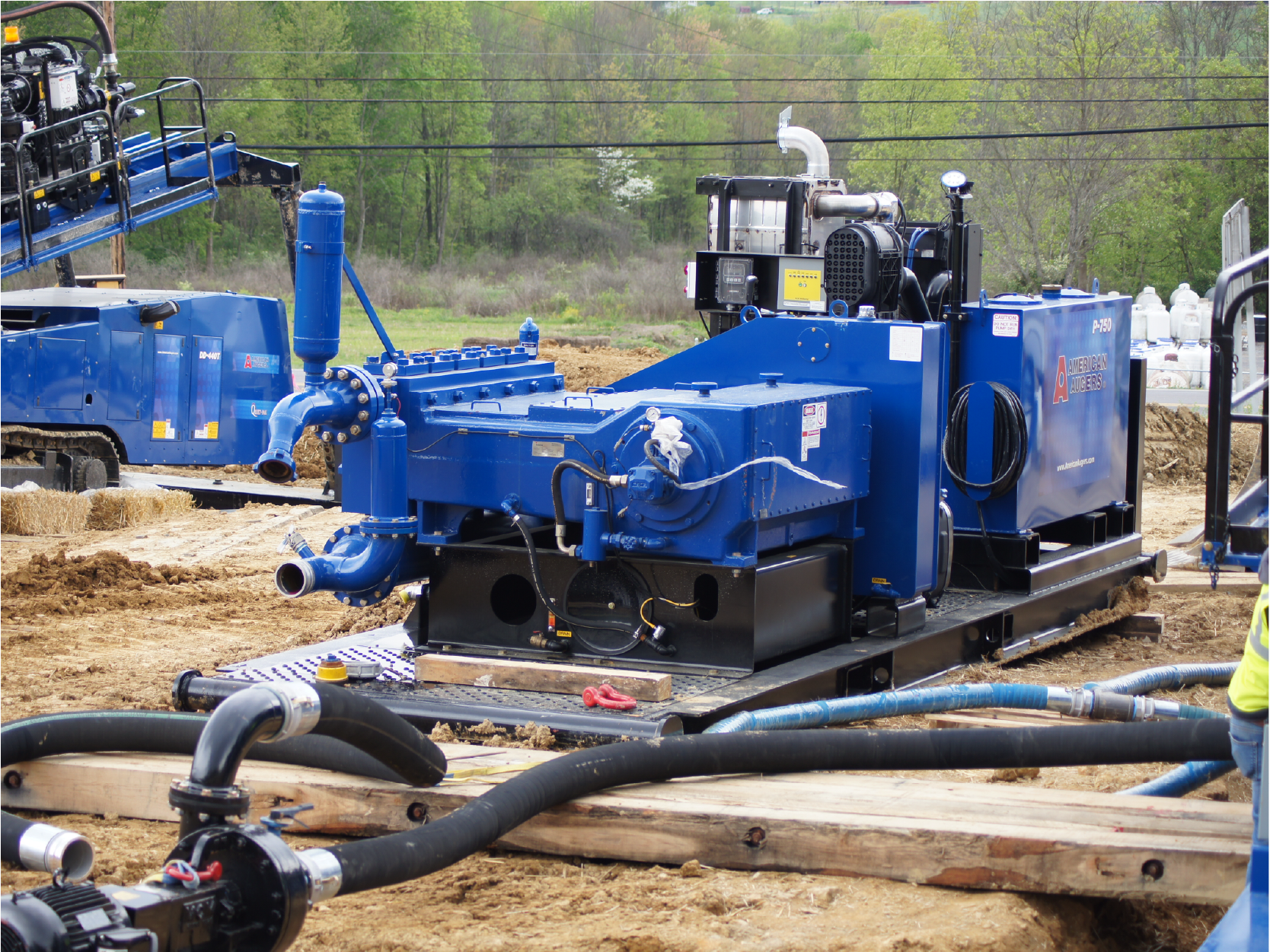 American Augers Directional Drills Equipment Image