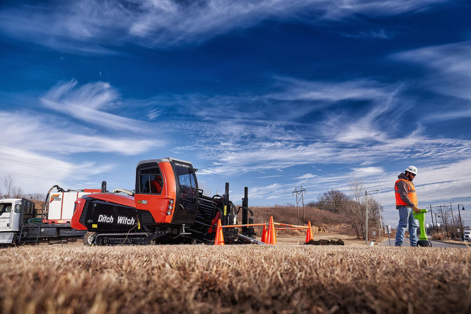 Ditch Witch AT32 All Terrain Directional Drill