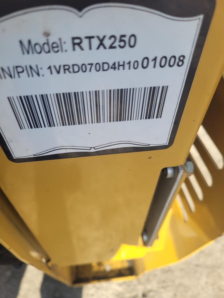 2017 Vermeer RTX250