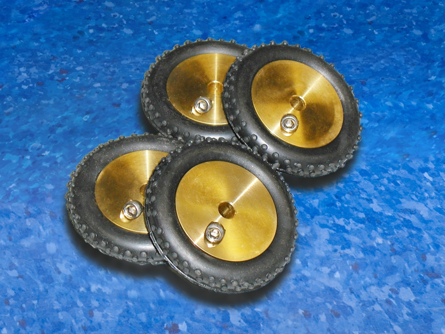 Subsite Electronics Standard Knobby Tractor Wheels