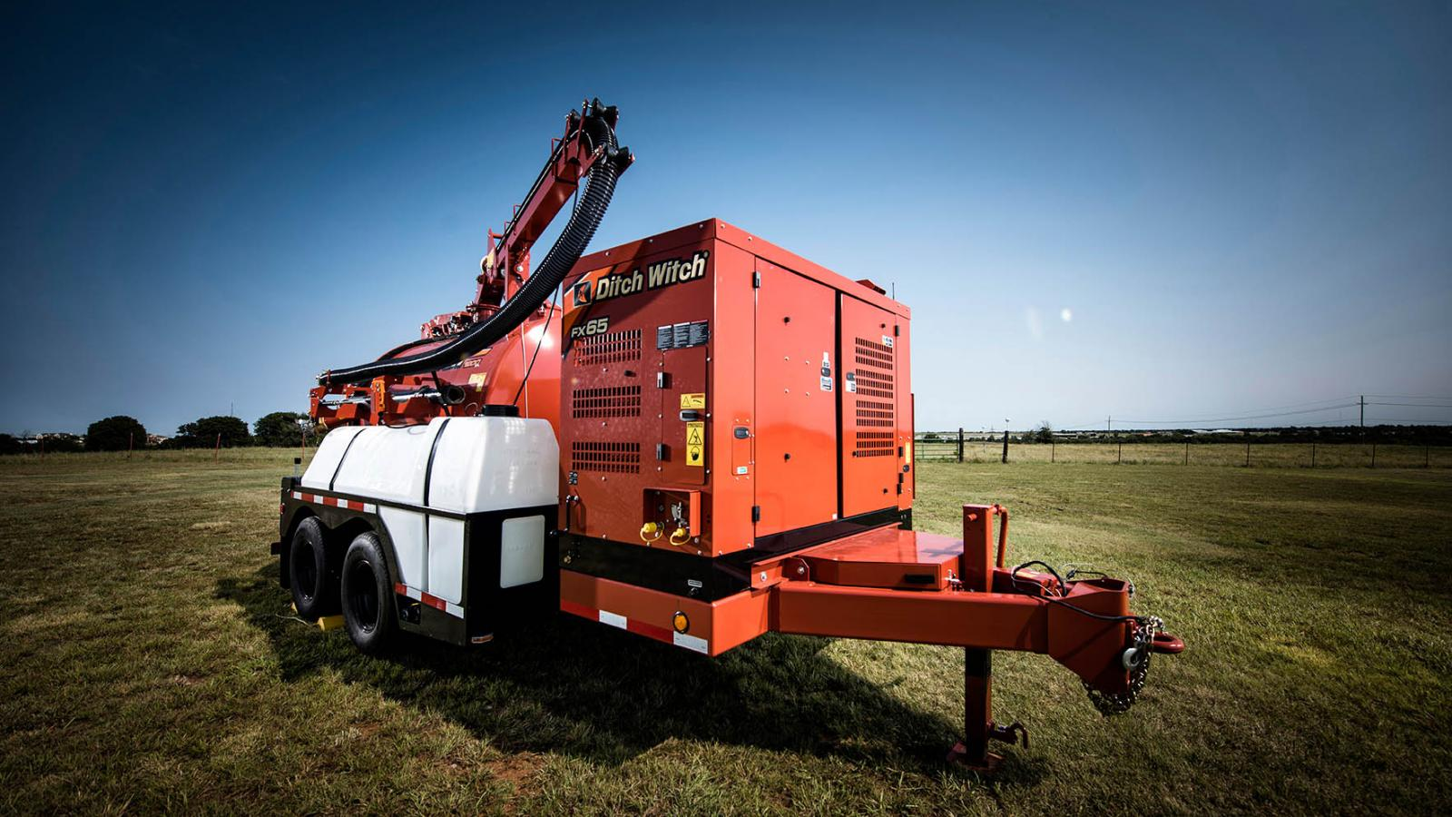 Ditch Witch FX65 Vacuum Excavator