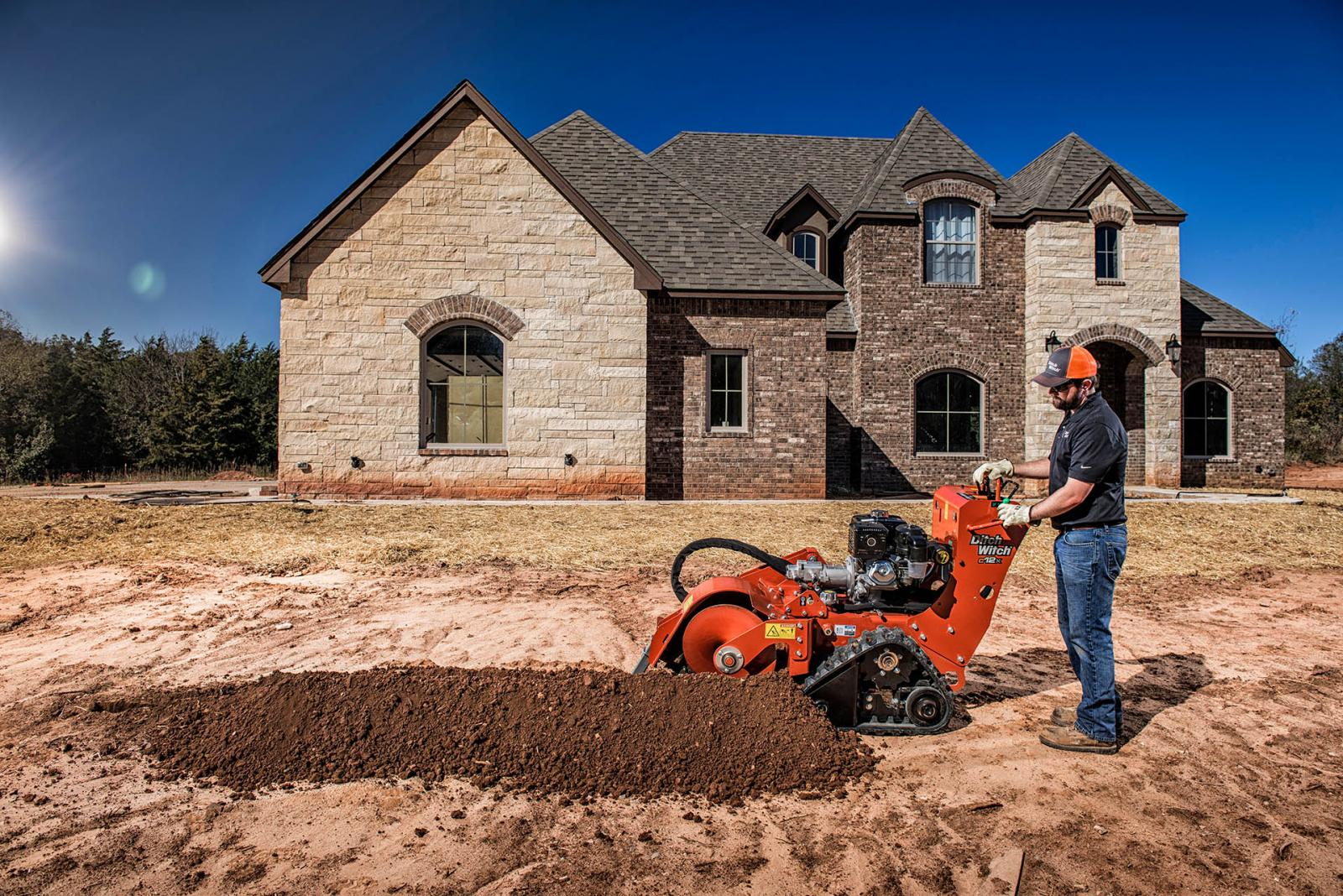 Ditch Witch C12X Walk-Behind Trencher