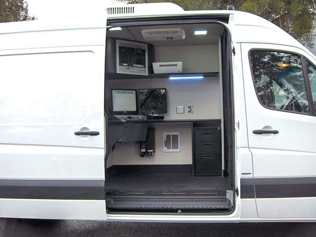Subsite Electronics CCTV Inspection Van (Sprinter)