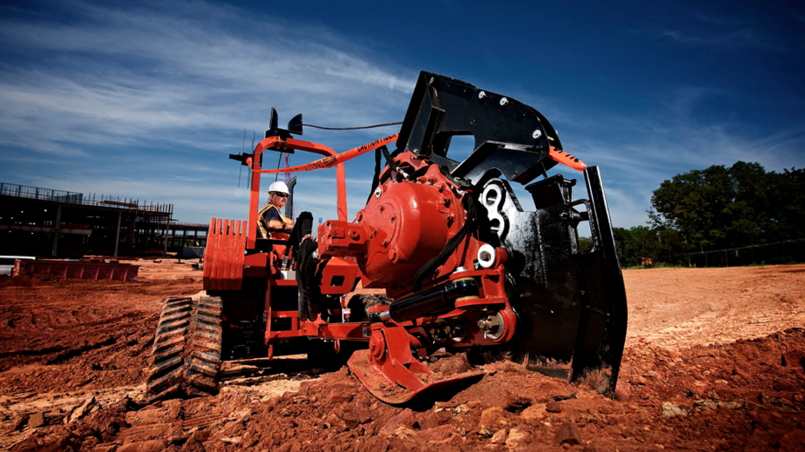 Ditch Witch RT80 Quad Ride-On Trencher