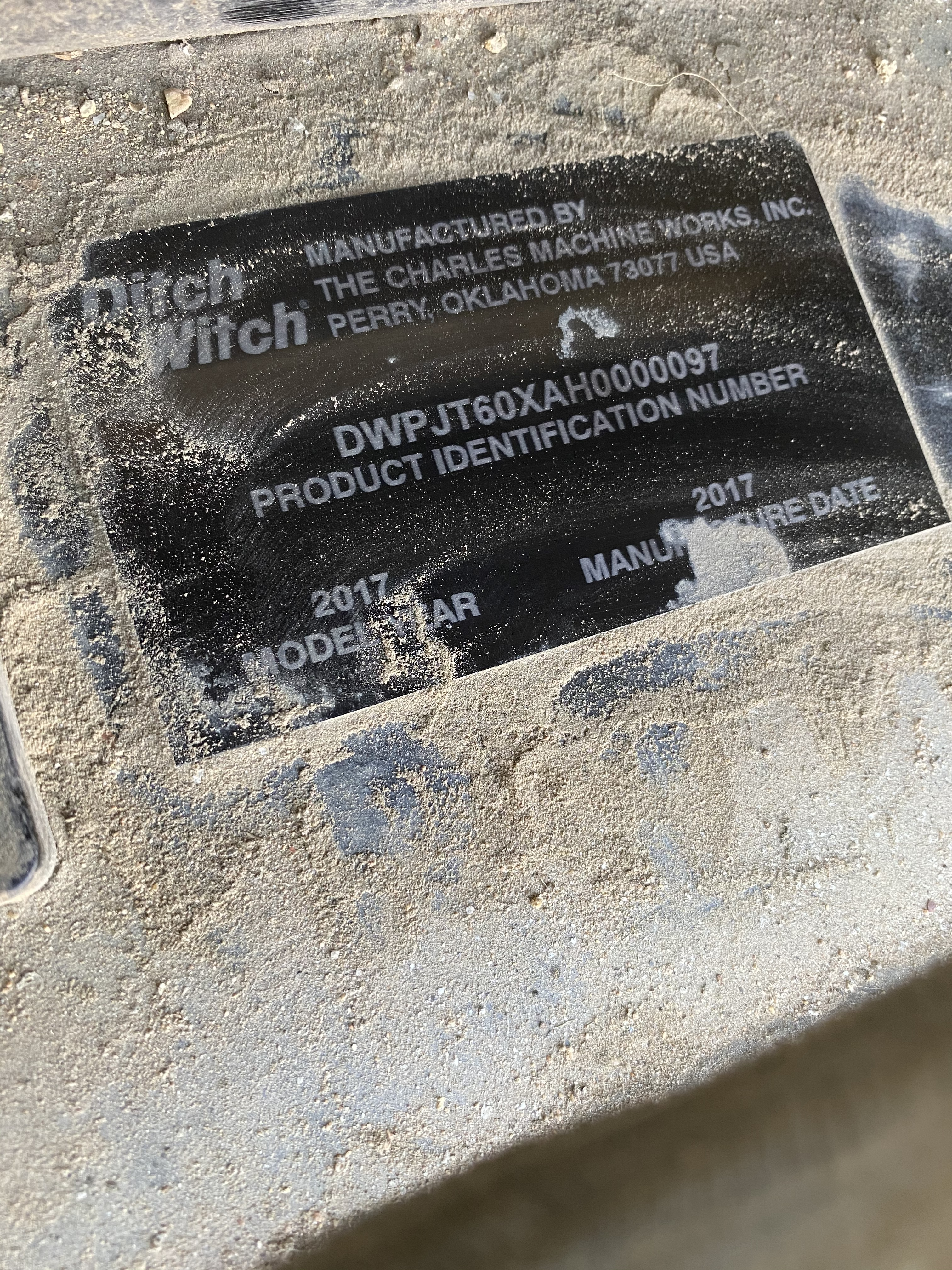Ditch Witch JT60