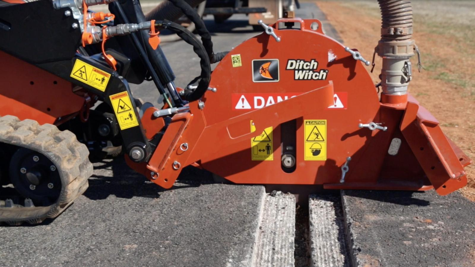 Ditch Witch MT9 Microtrencher