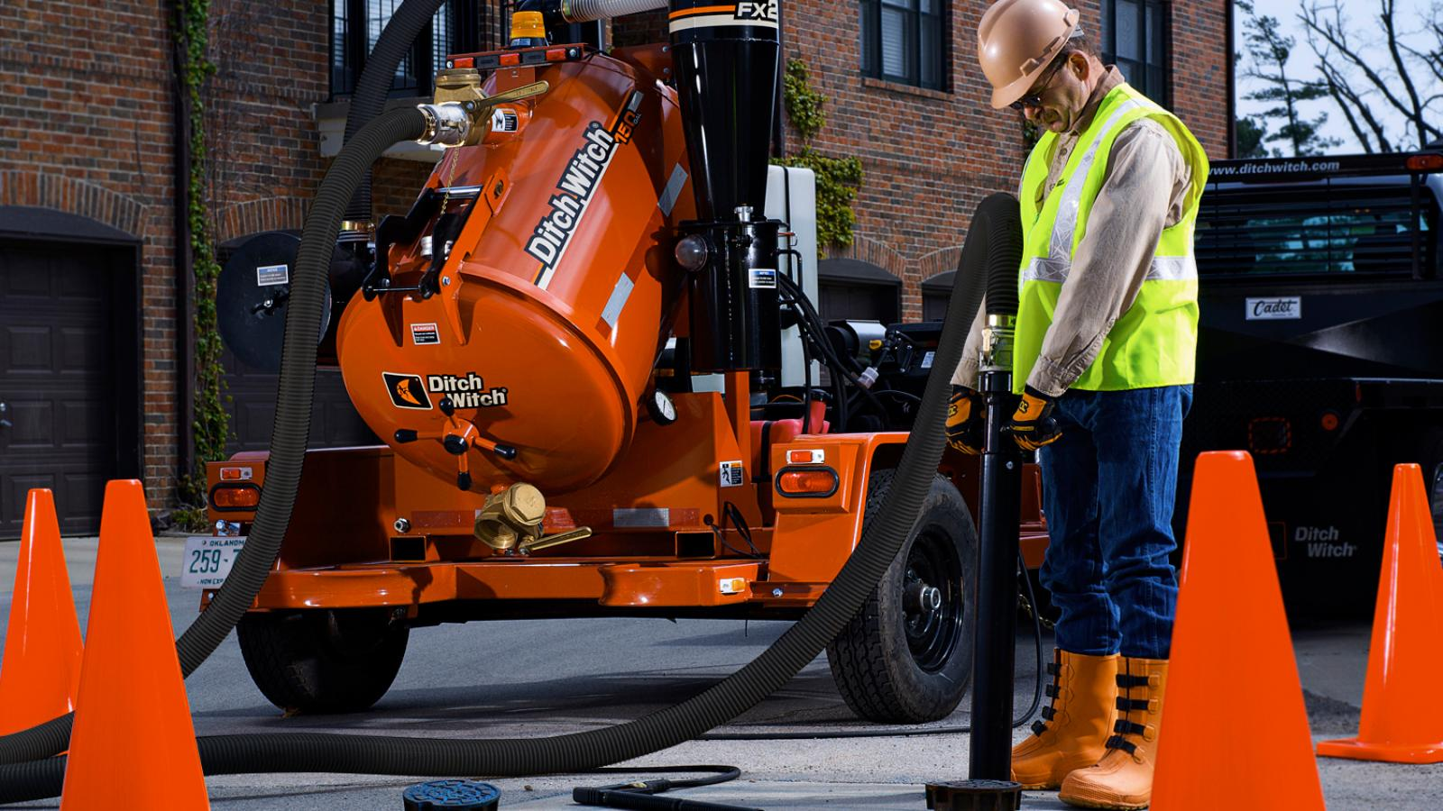 Ditch Witch FX20 Vacuum Excavator