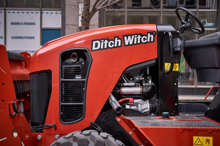 Ditch Witch RT70 Ride-On Trencher