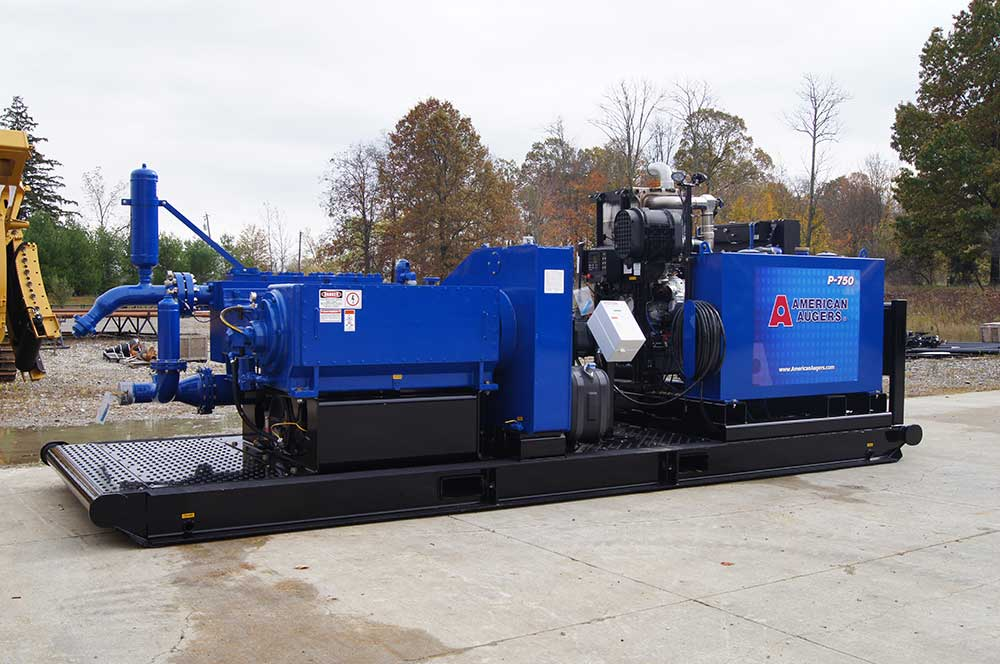 American Augers P-750