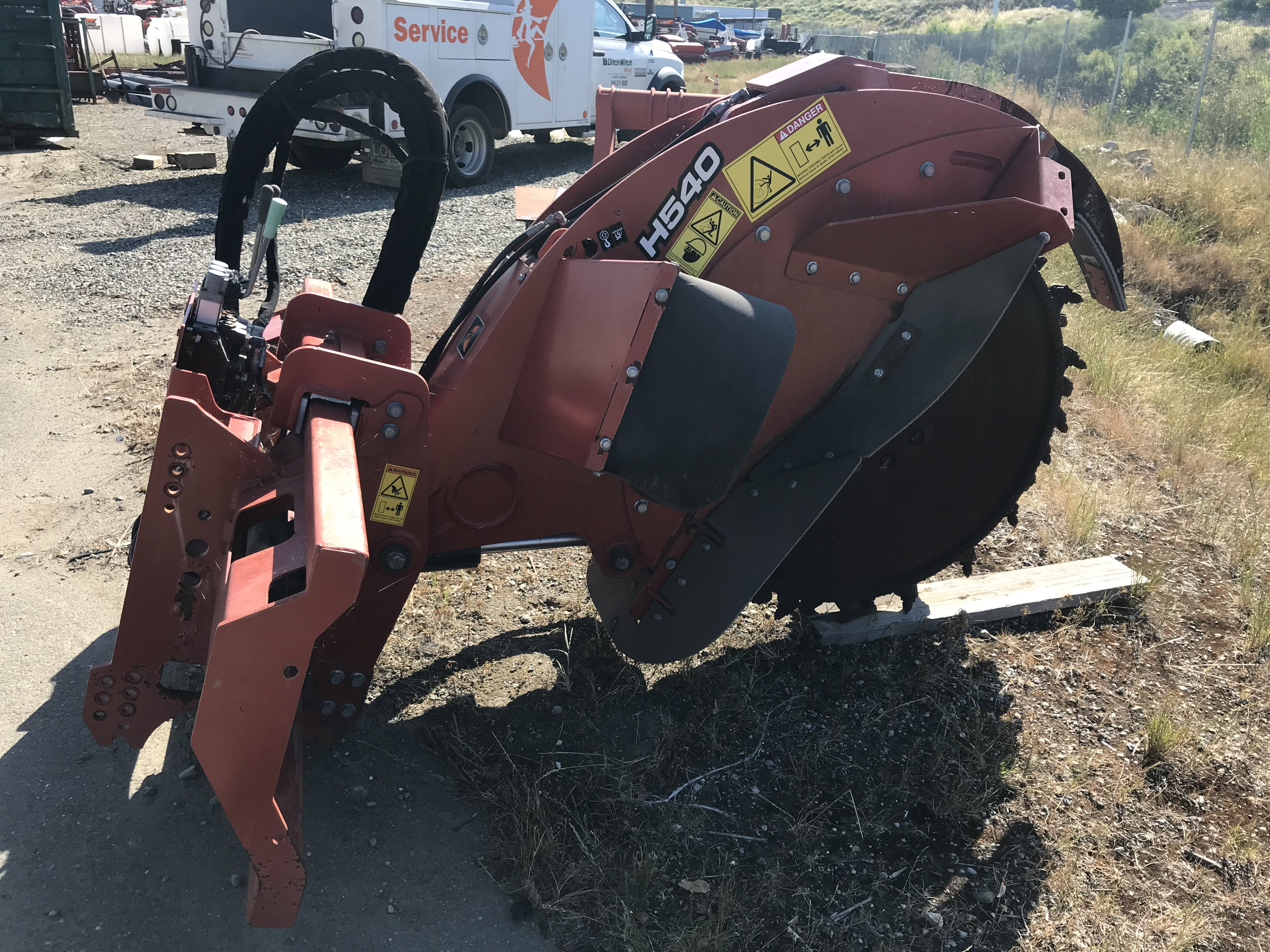 2007 Ditch Witch H540