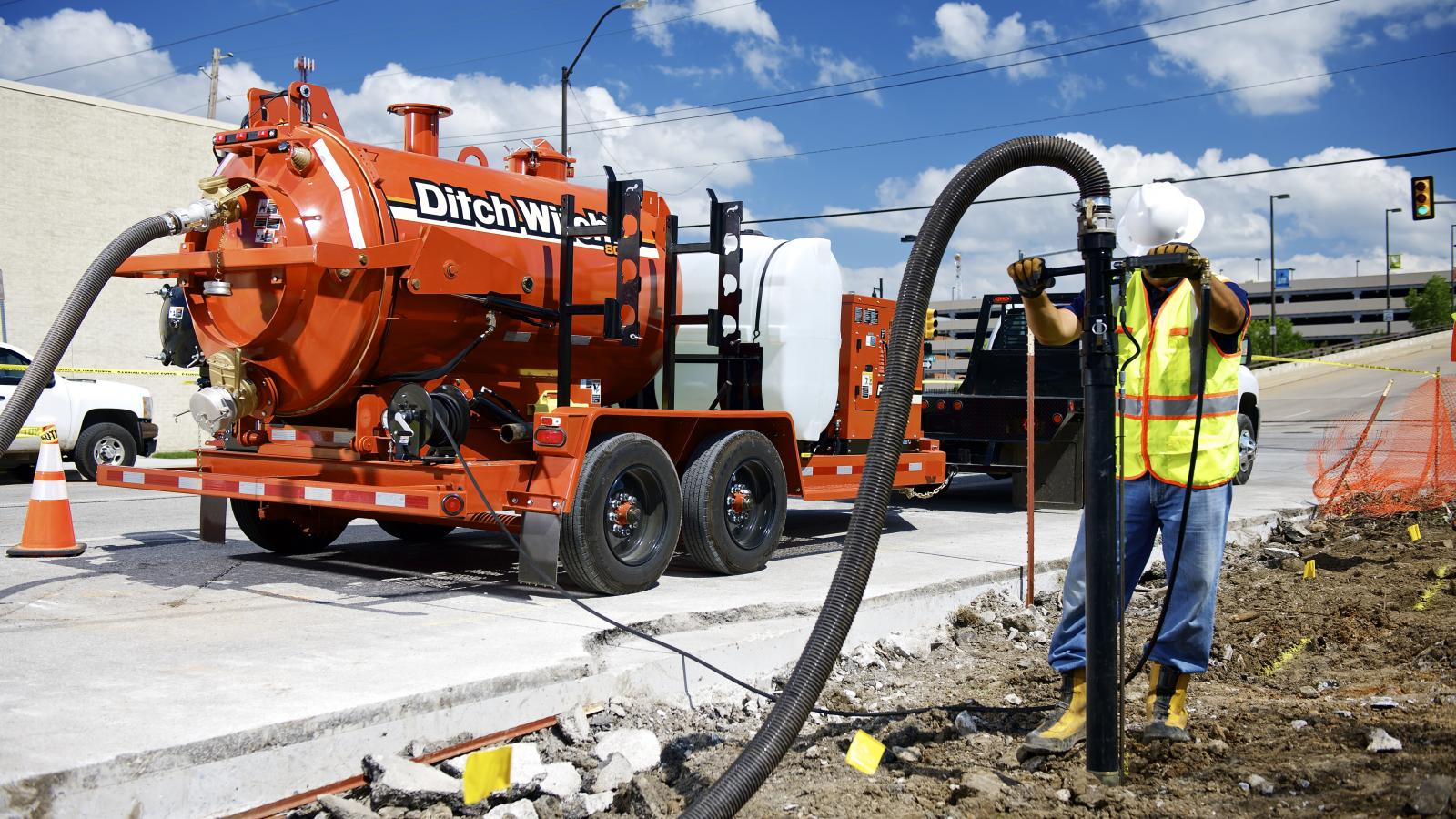 Ditch Witch FX30 Vacuum Excavator