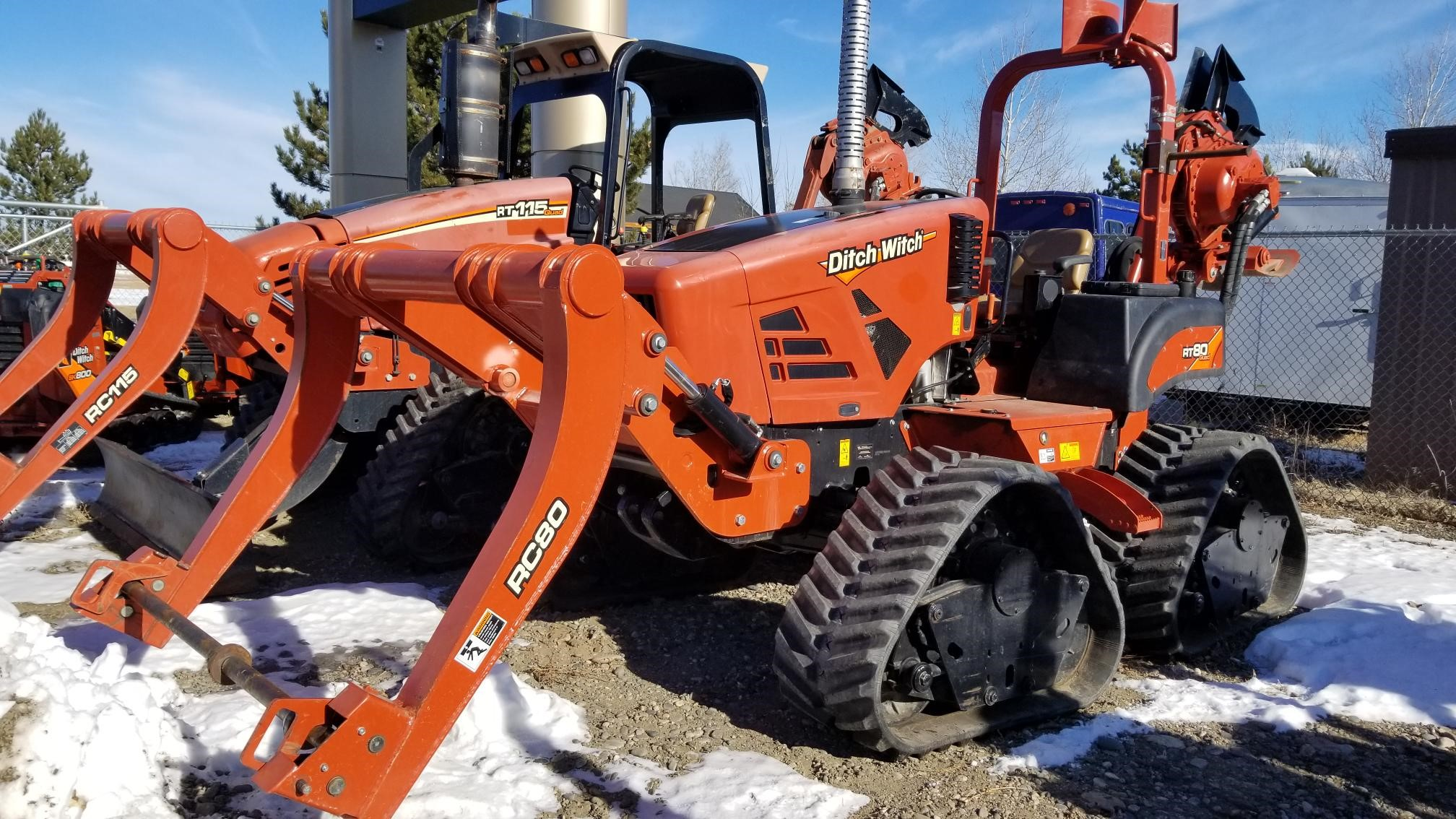 Ditch Witch RT80Q
