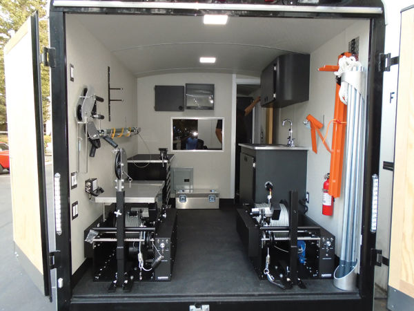 Subsite Electronics Video Pipeline Inspection Trailer