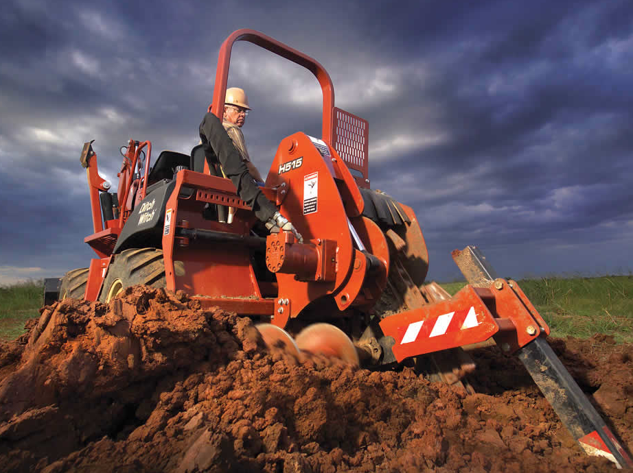 Ditch Witch RT55 Ride-On Trencher