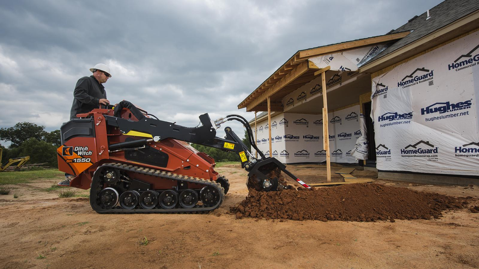 Ditch Witch SK1550 Mini Skid Steer