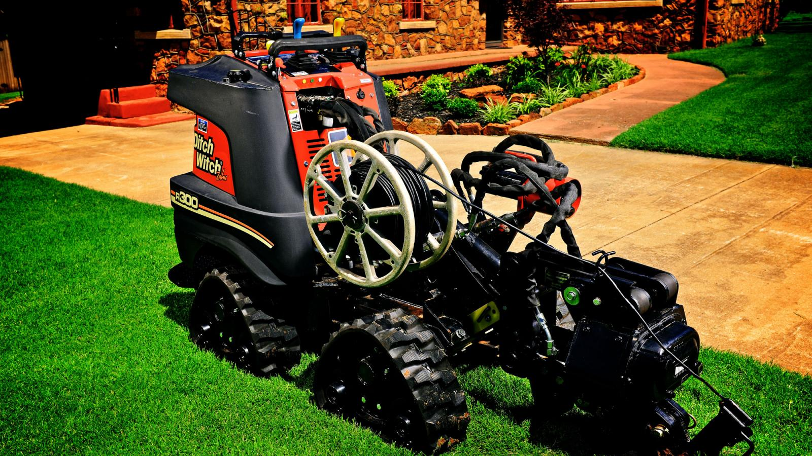 Ditch Witch Zahn® Vibratory Plow