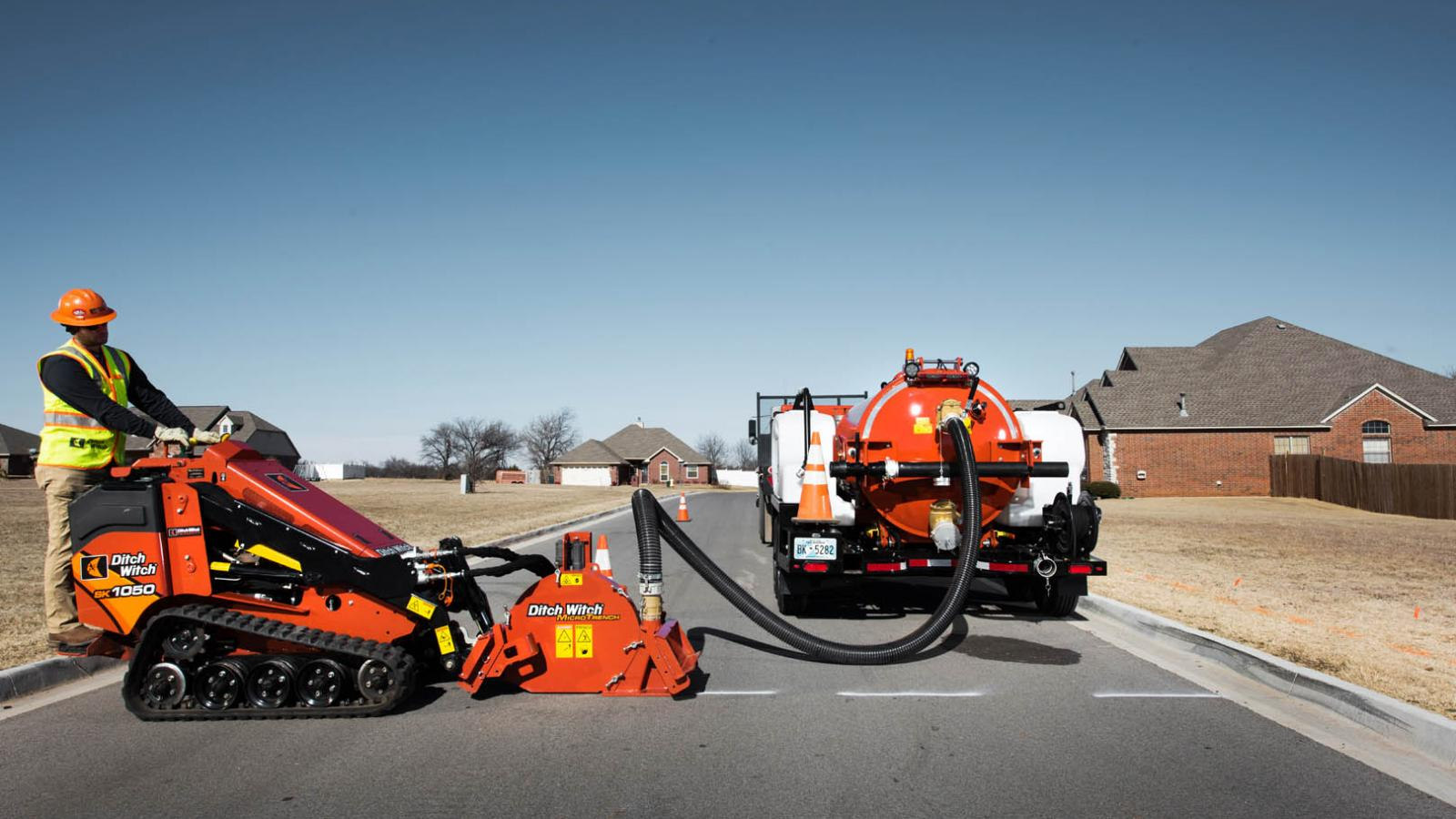 Ditch Witch HX50 Vacuum Excavator