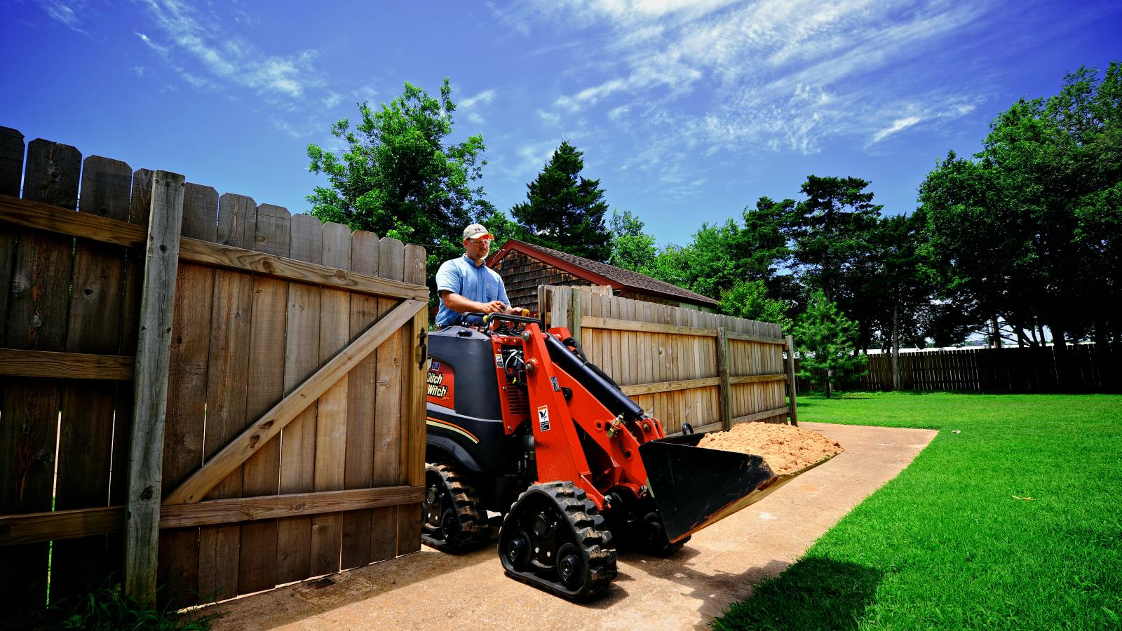 Ditch Witch ZAHN® Tool Carrier