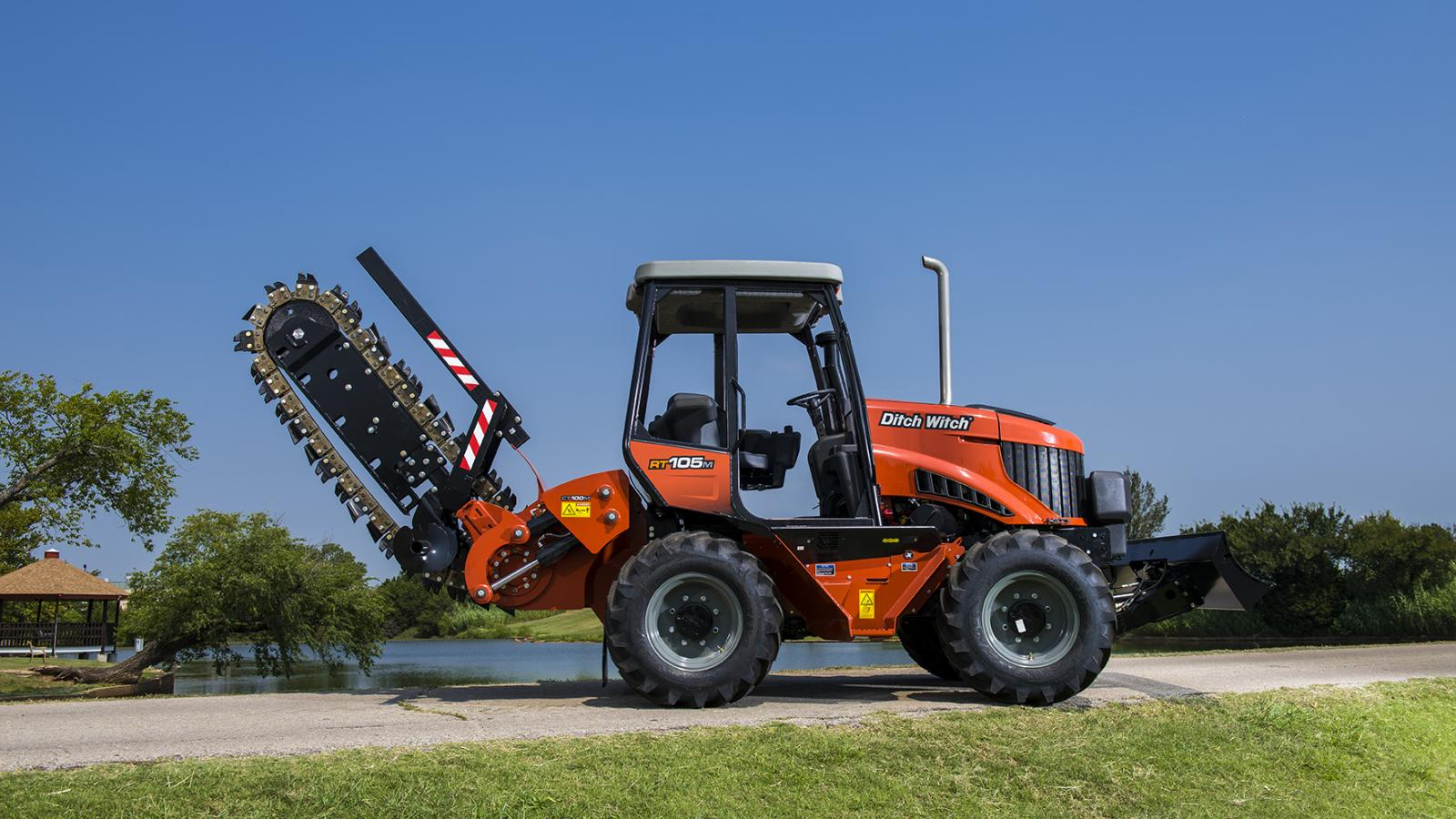 Ditch Witch RT105 Ride-On Trencher
