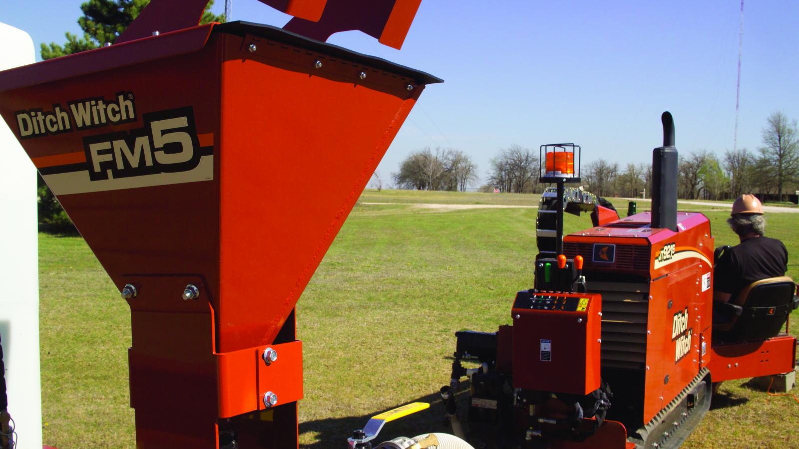 Ditch Witch FM5 Fluid Management