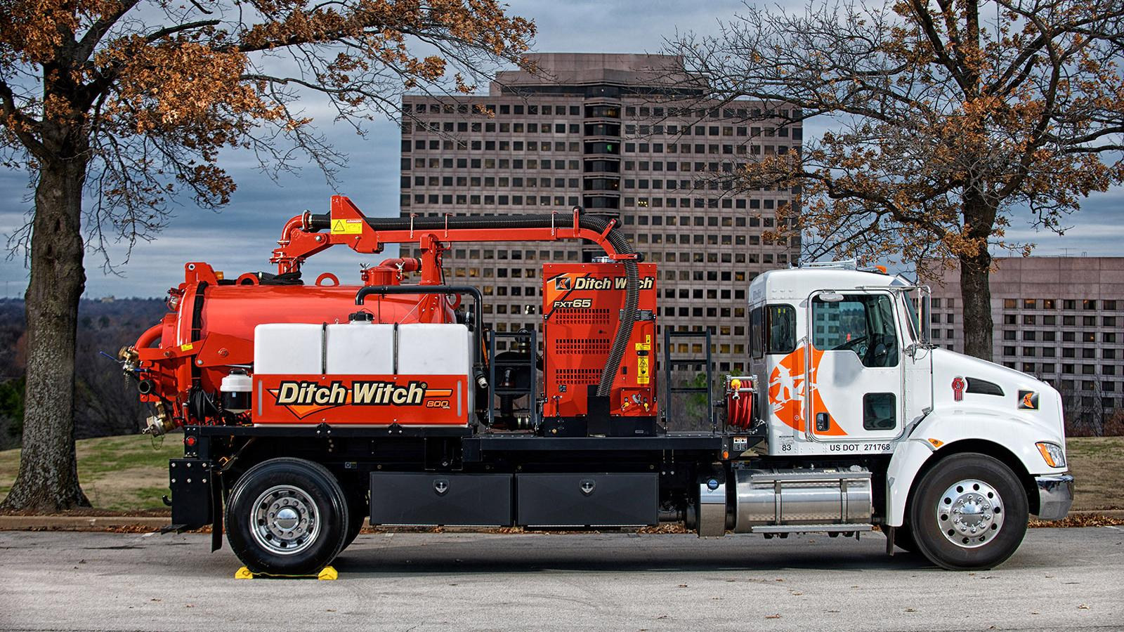 Ditch Witch FXT65 Truck Vacuum Excavator
