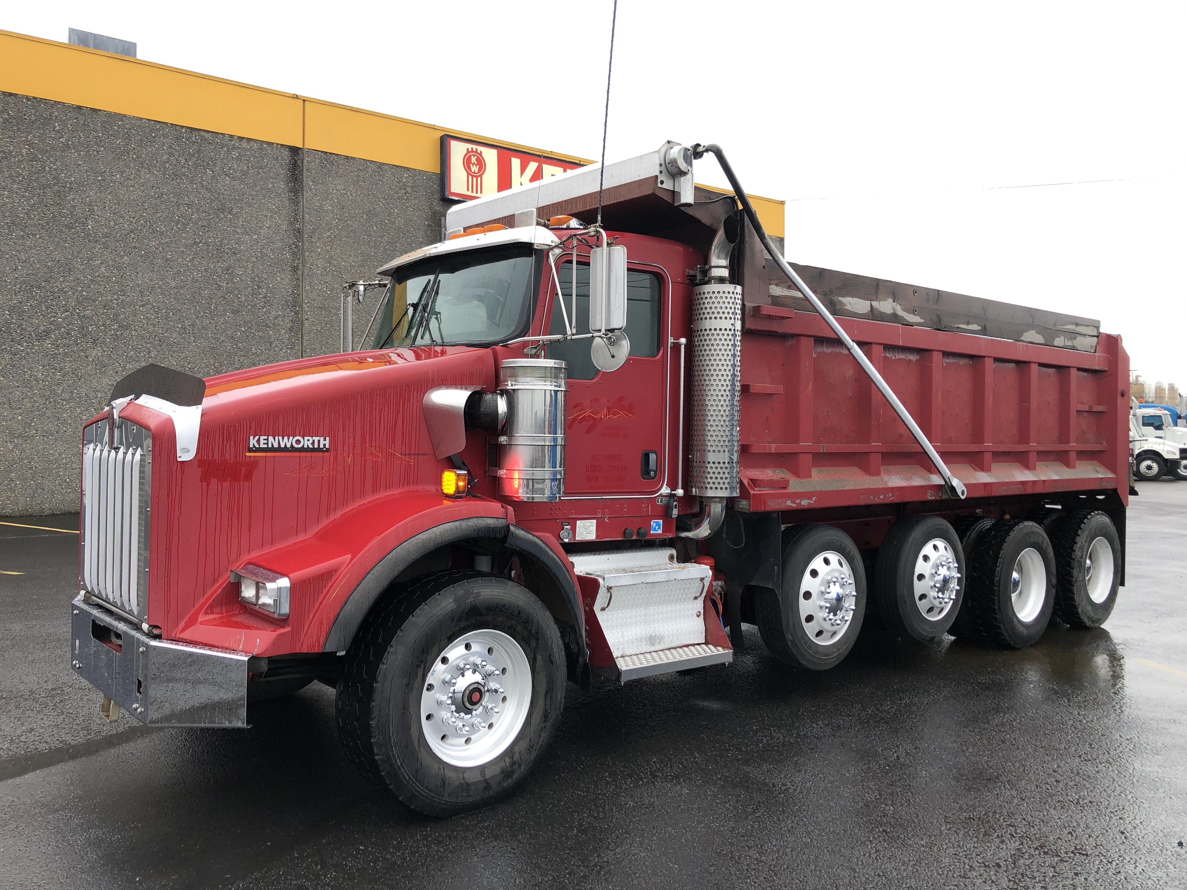 2007 Kenworth T800