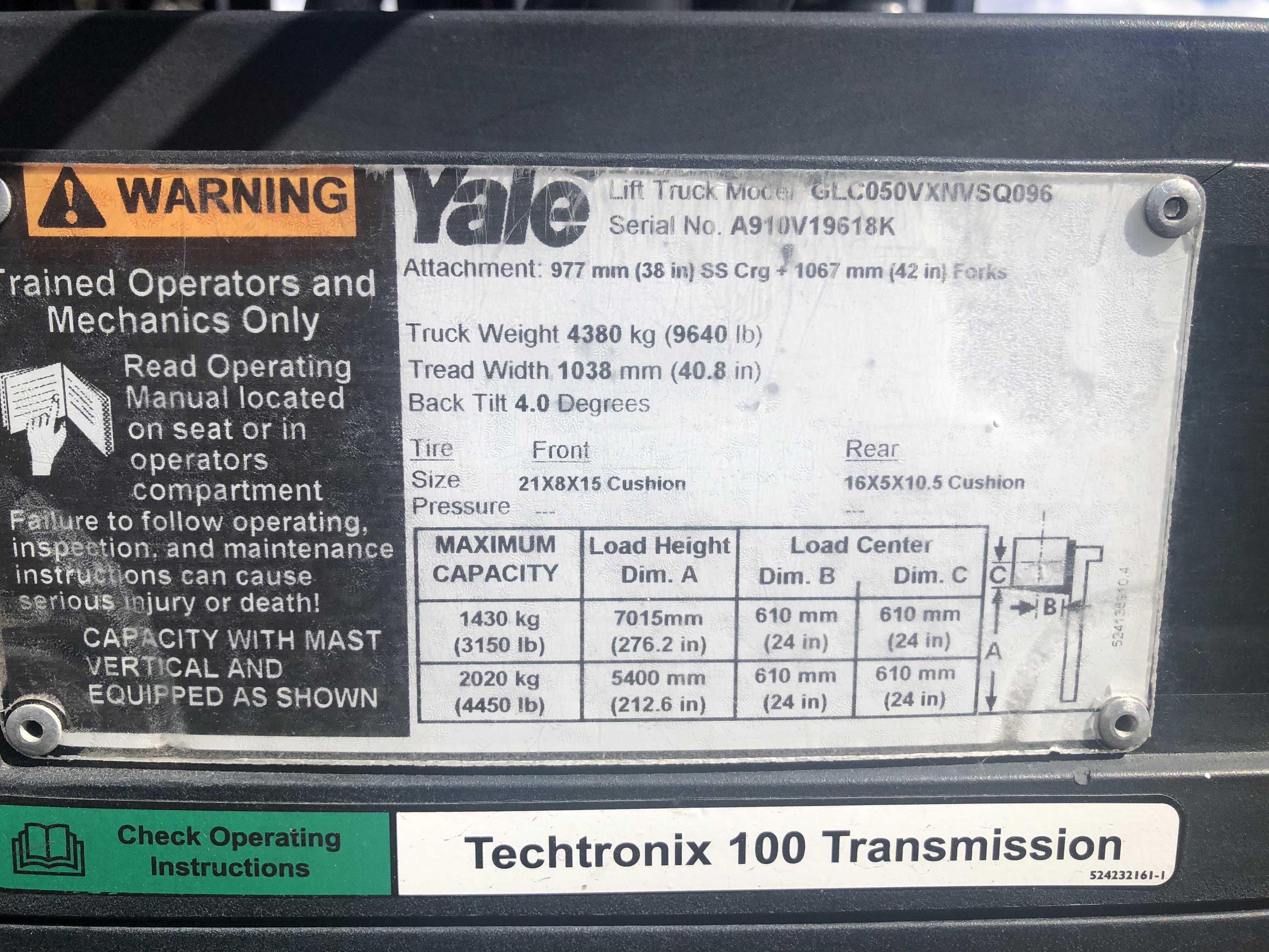 Yale GLC050