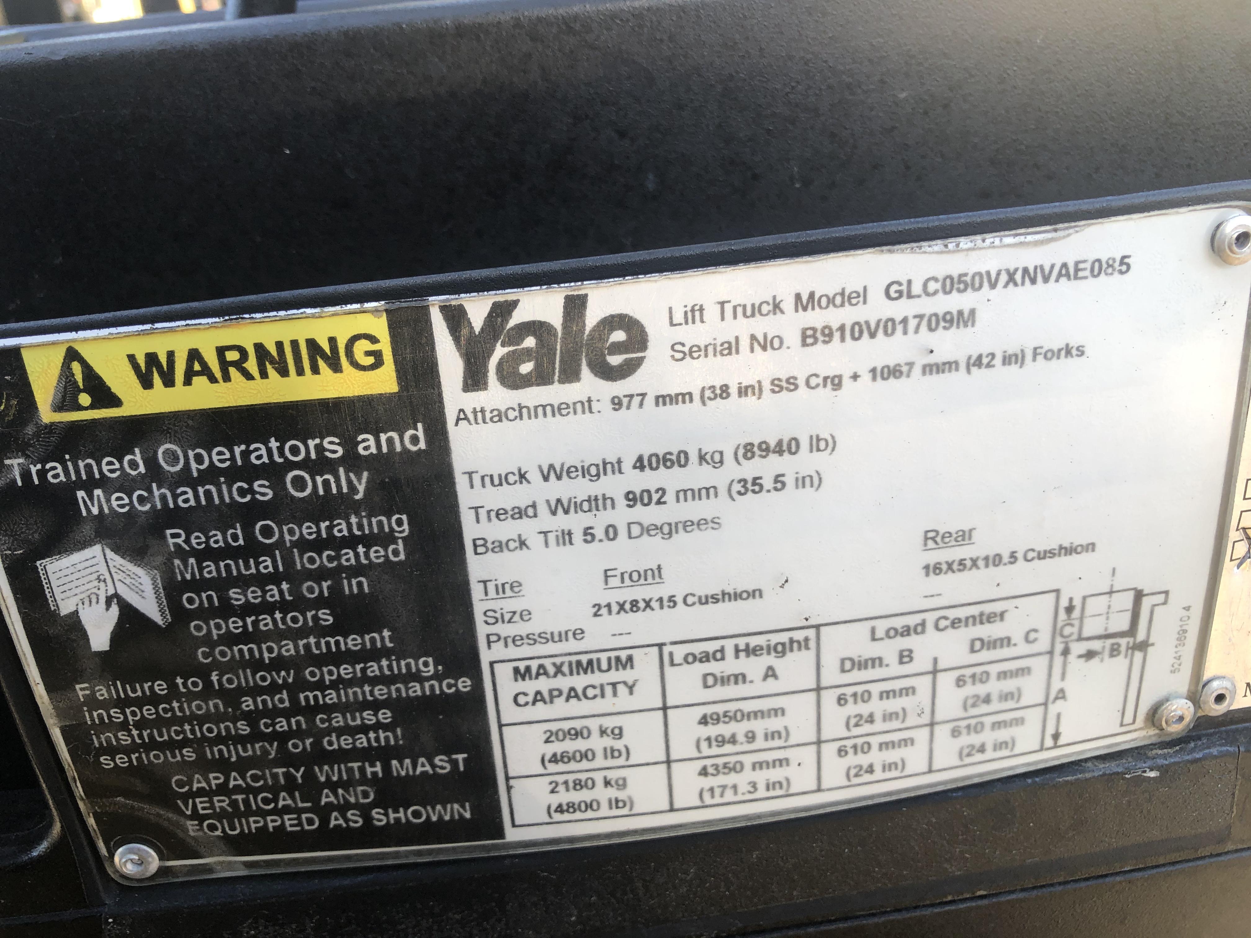 2014 Yale GLC050