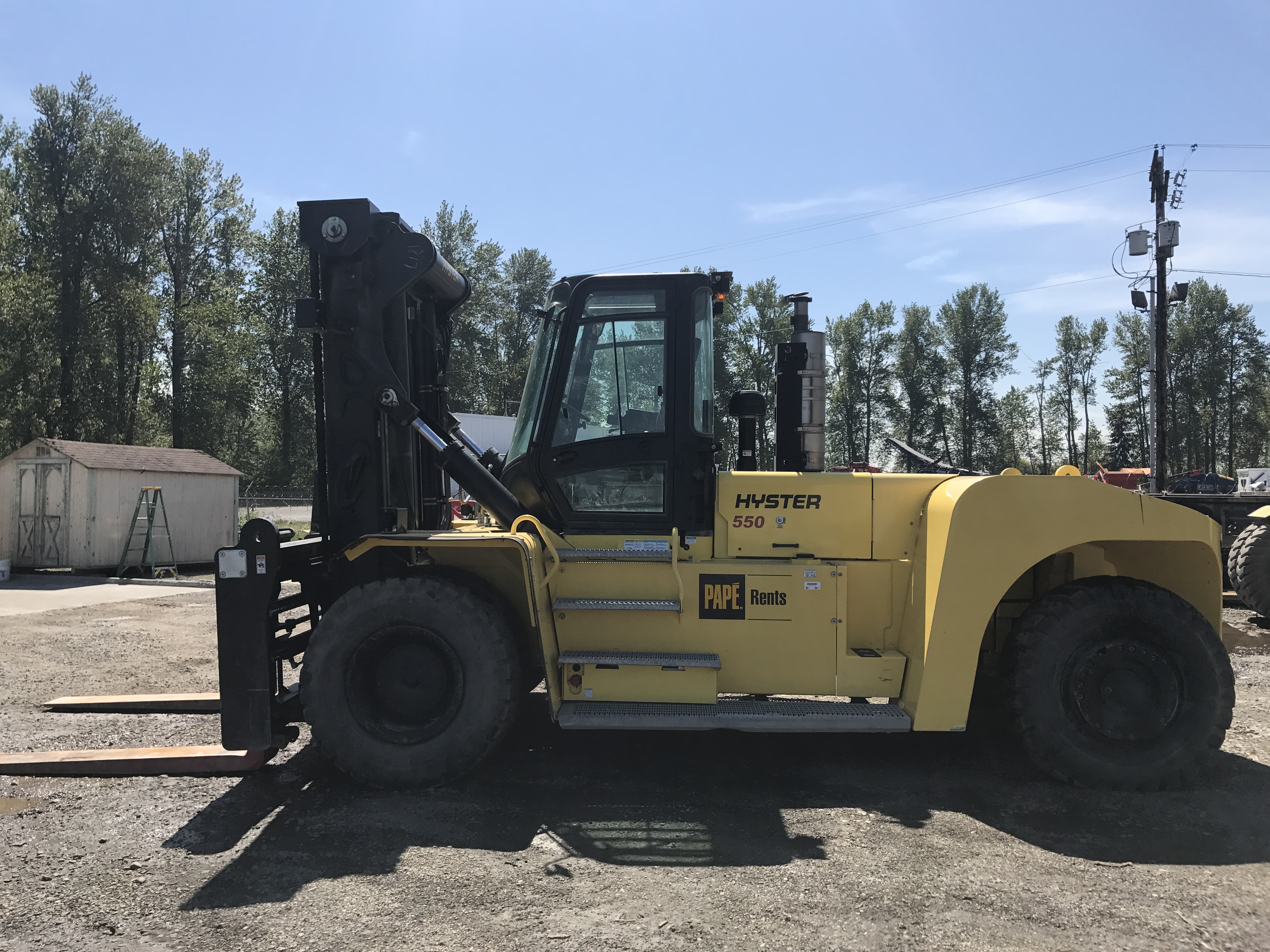 2014 Hyster H550HD
