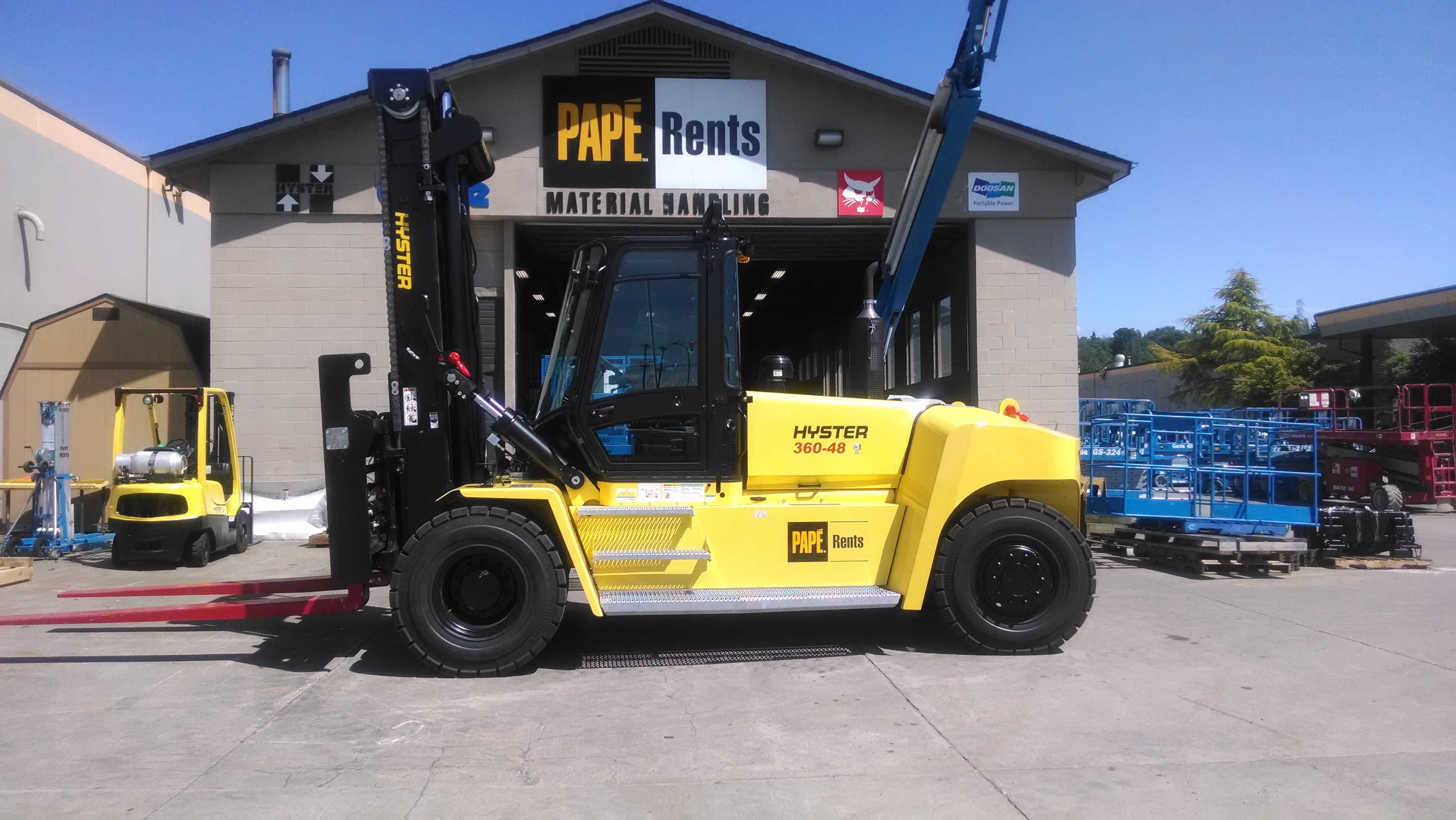 2014 Hyster H360-48