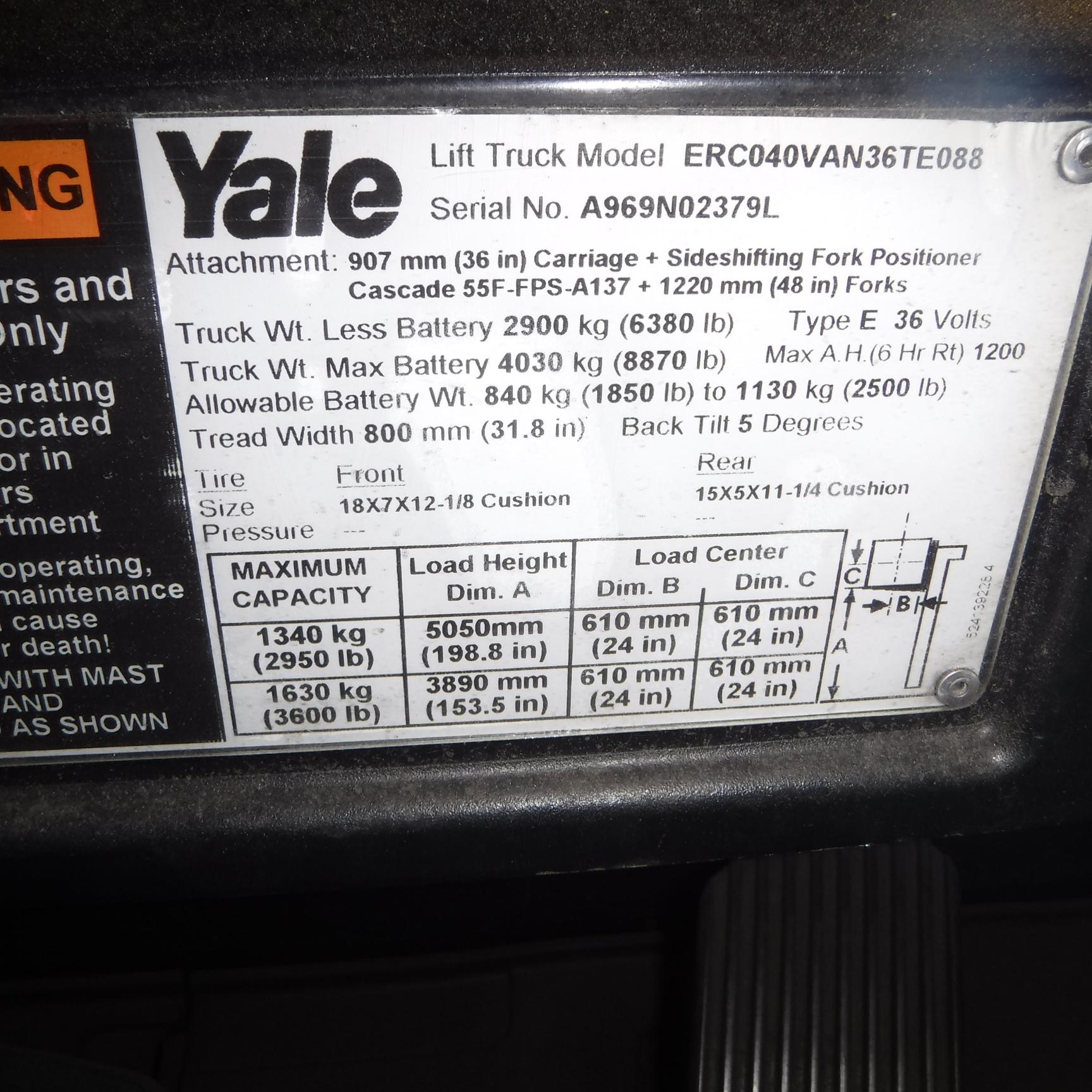 2013 Yale ERC040