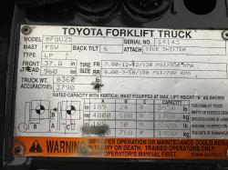 2007 Toyota 8FGU25