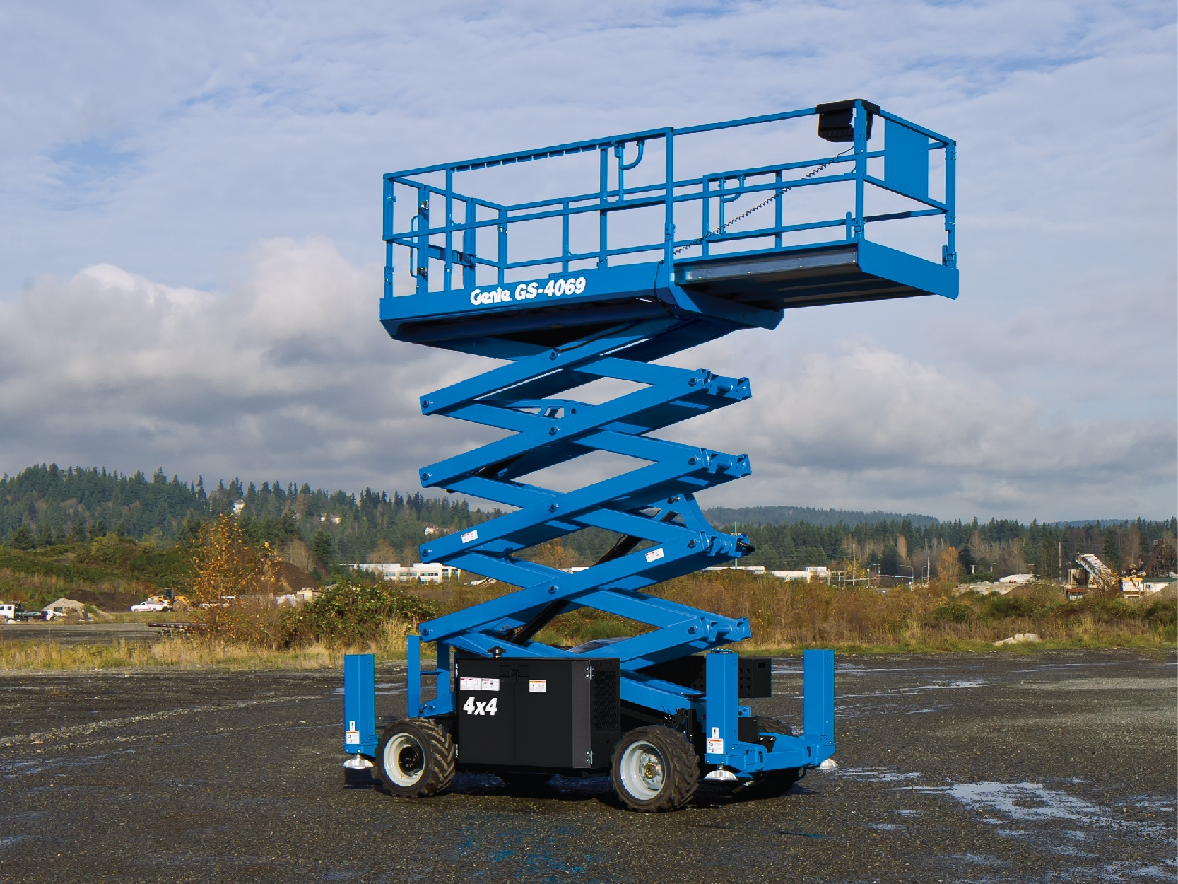Slab Scissor Lifts Equipment Image