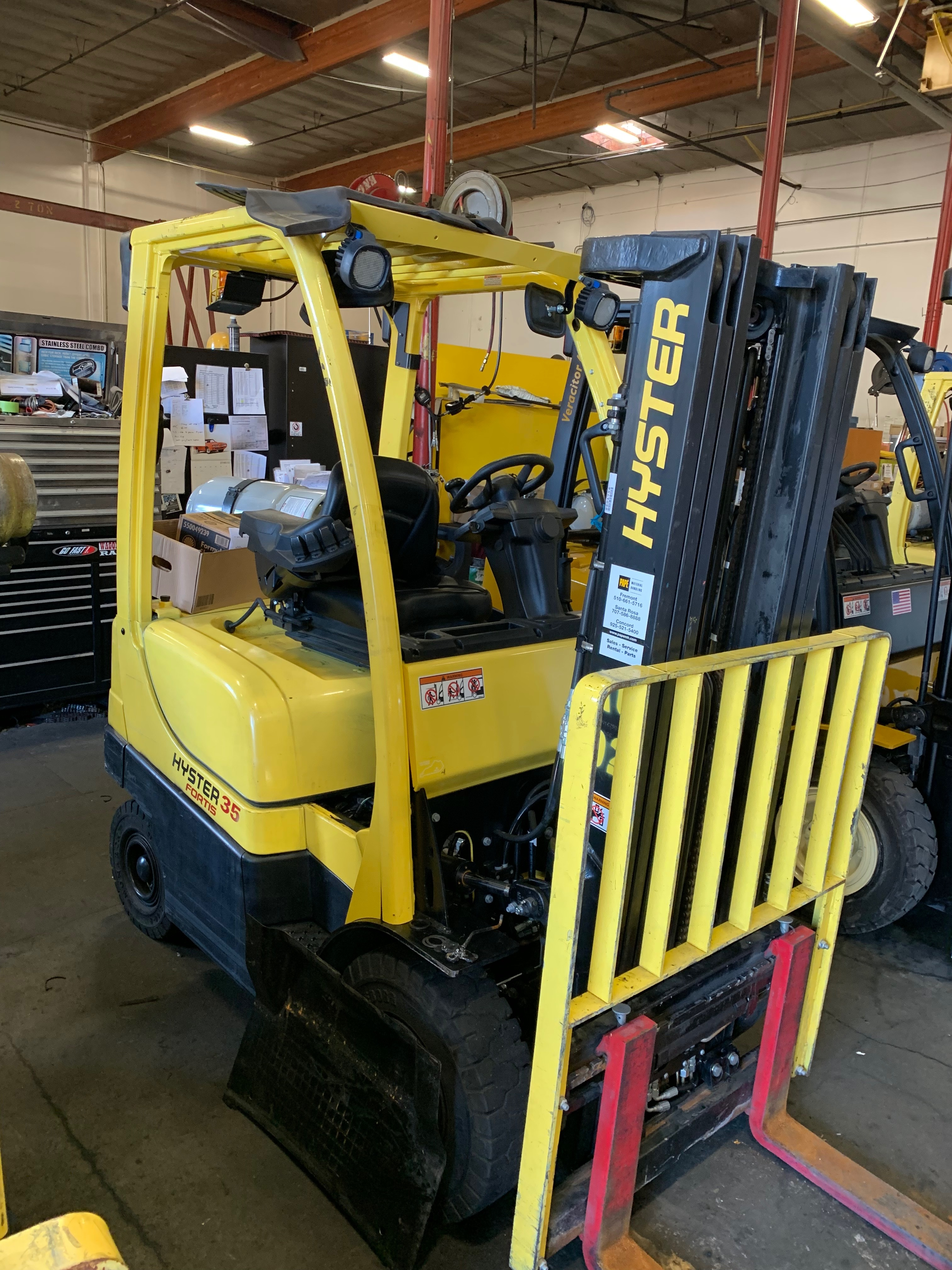 2015 Hyster H35FT