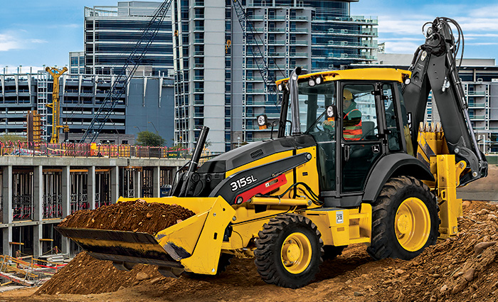 Backhoes & Skip Loaders