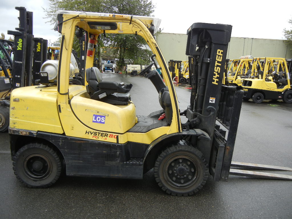 2007 Hyster H80FT