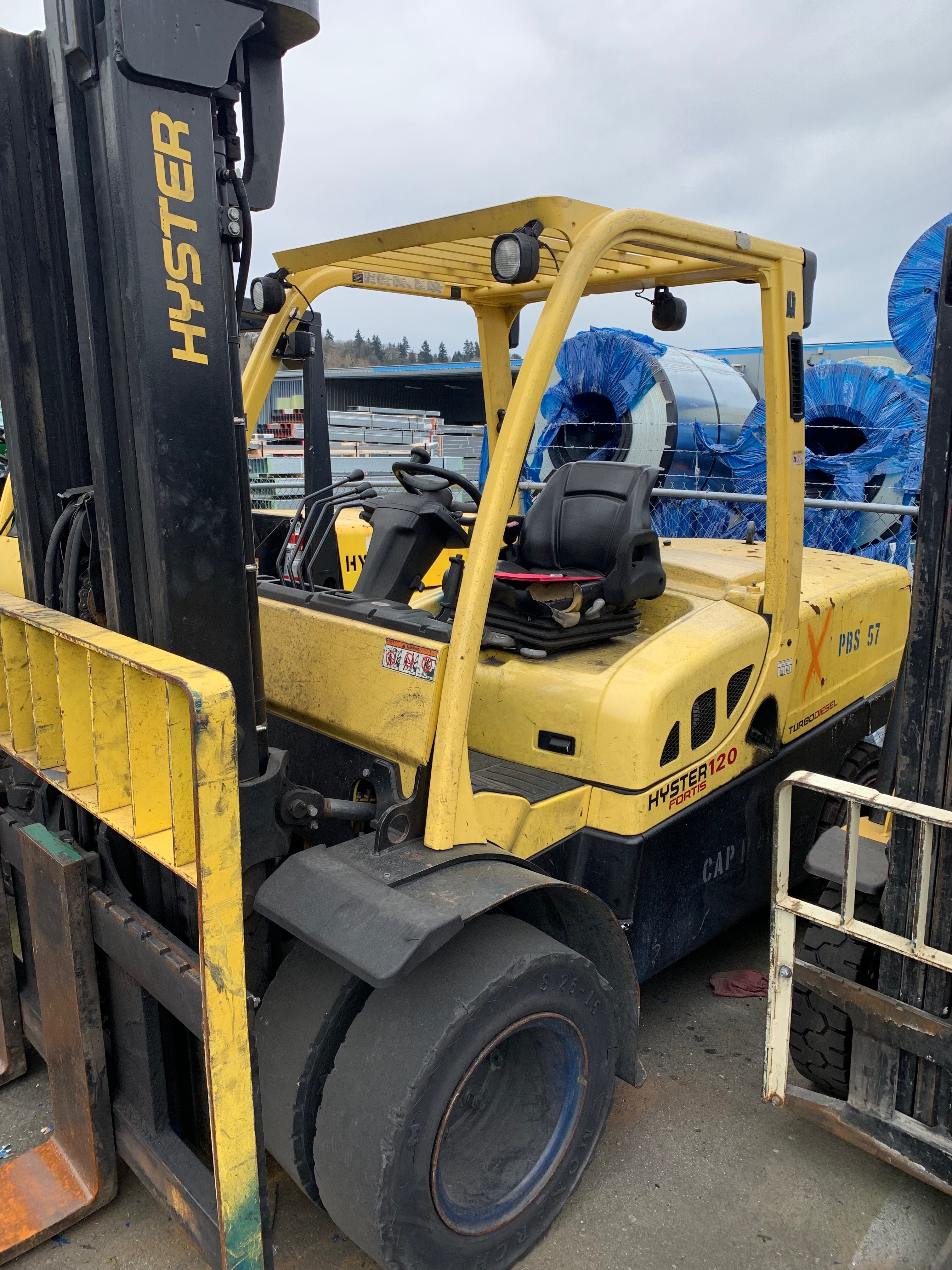 2015 Hyster H120FT