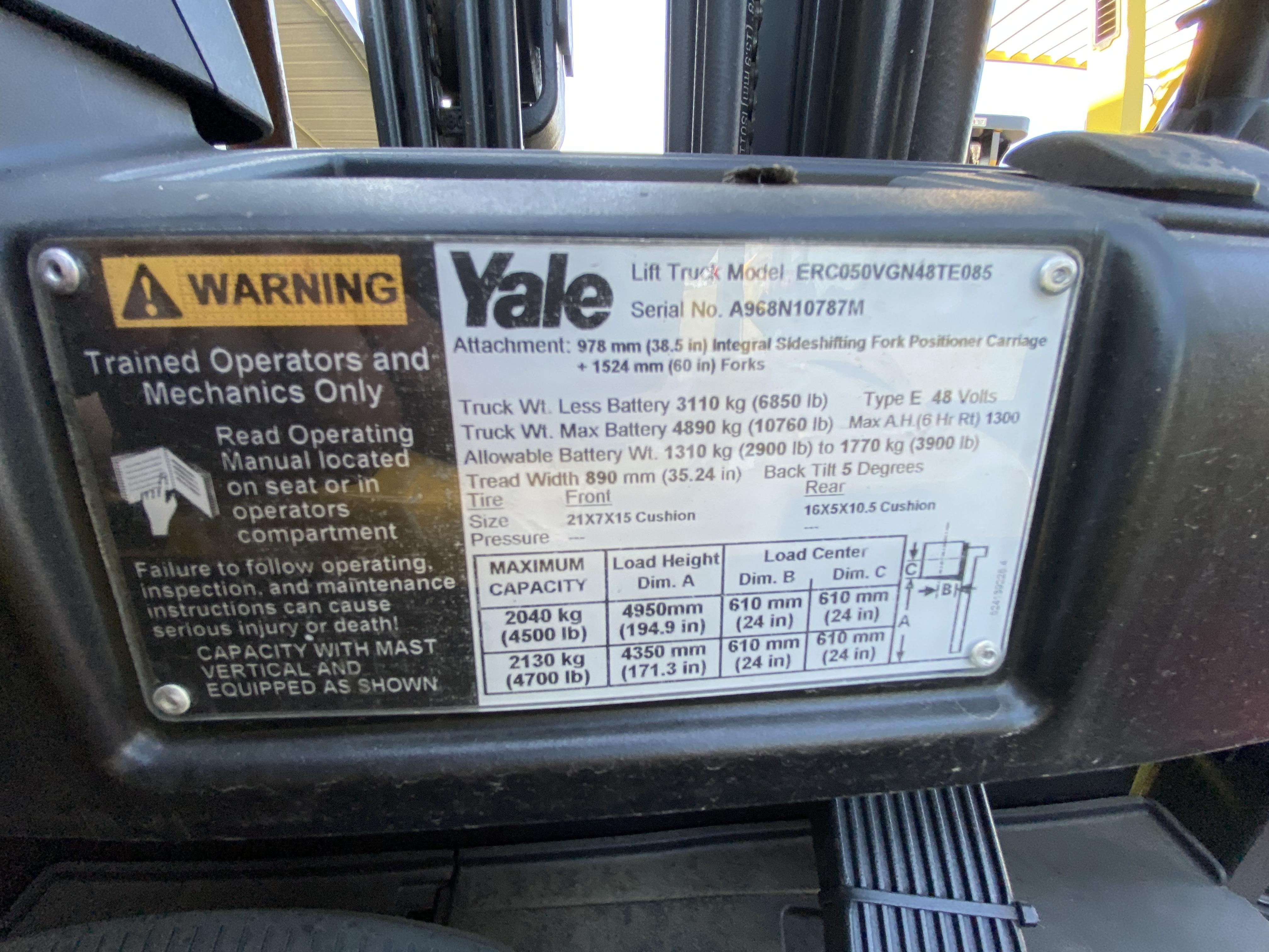 2014 Yale® ERC050
