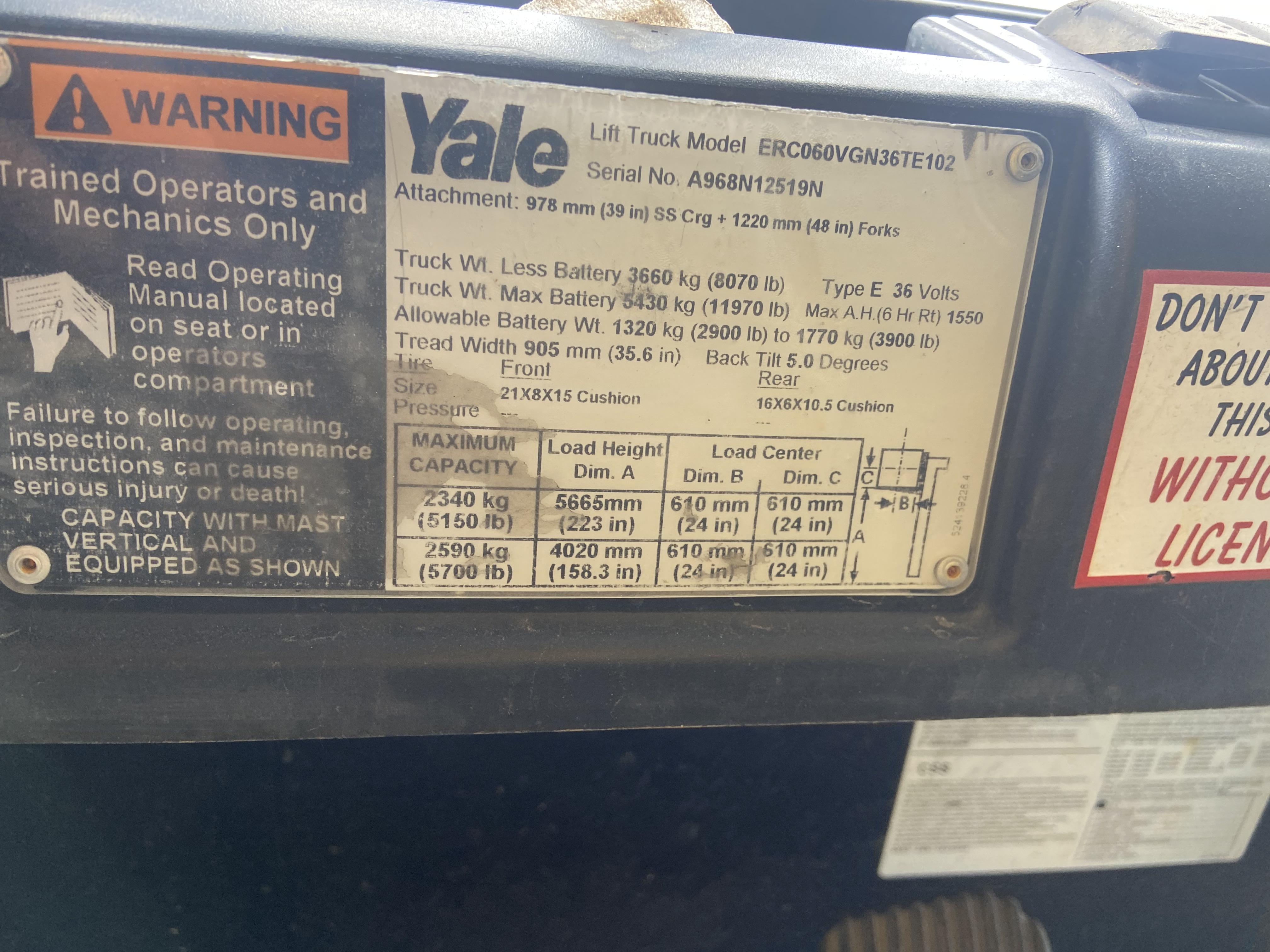 Yale® ERC060