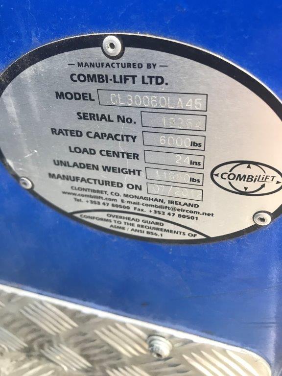 2012 Combilift C6000