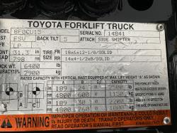 2009 Toyota 8FGCU1